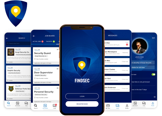 FindSec – Security Recruitment App