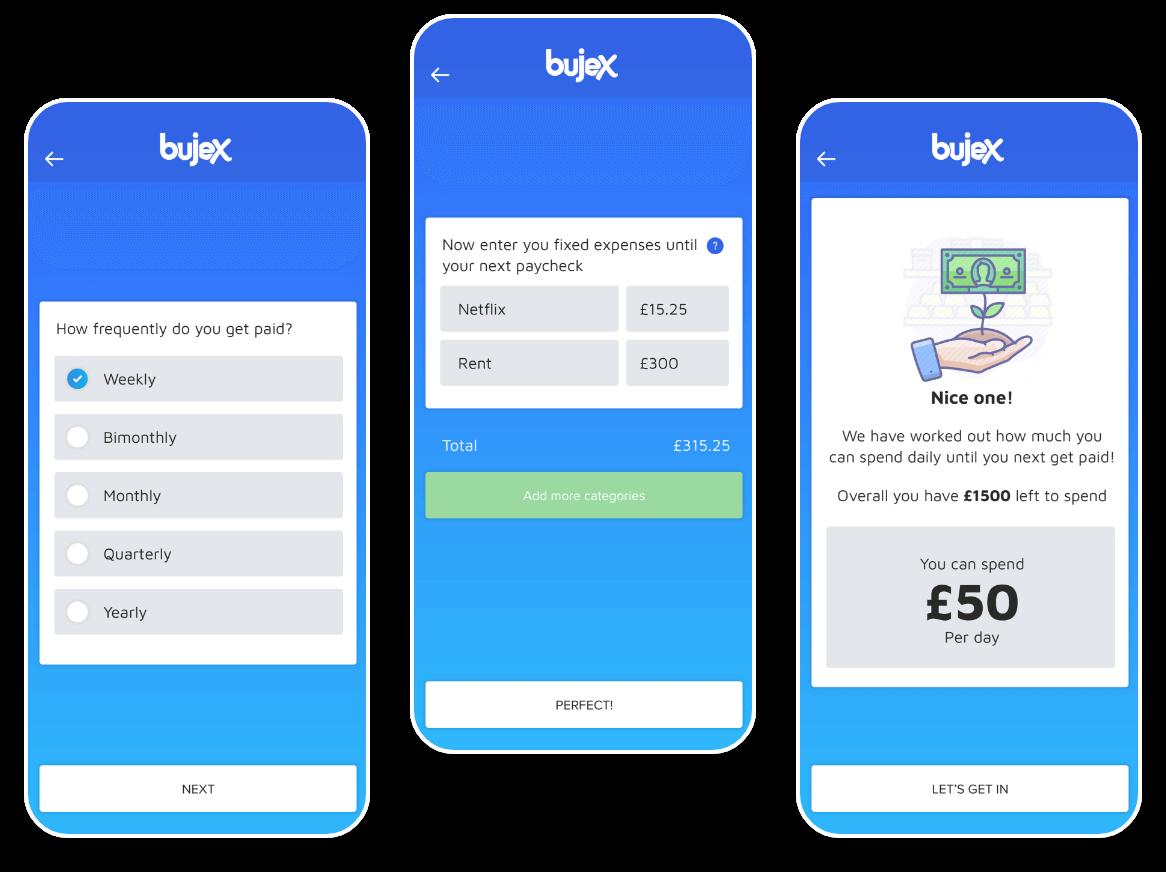Bujex Safe to Spend Group