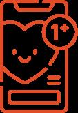 Appy Monkey Website Love Icon