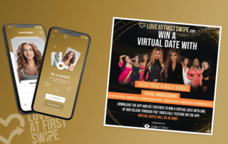 Love at first swipe Virtual Date