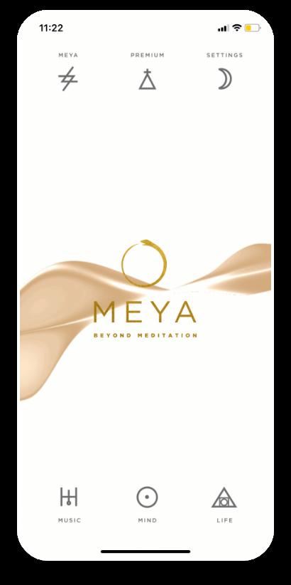 Meya Mobile app Home