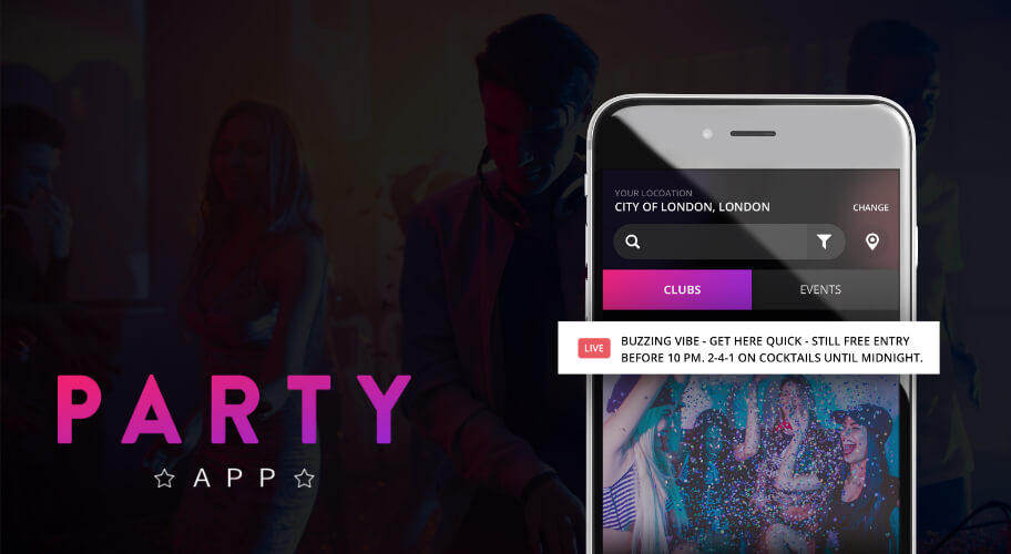 Party App Feature Image