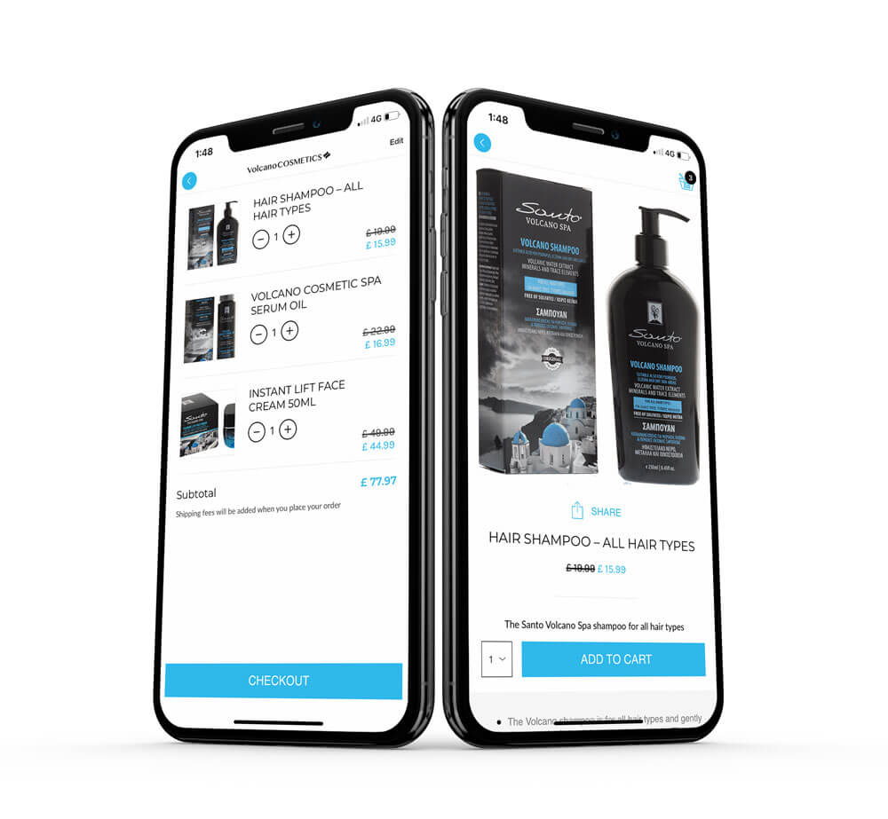 Shopping App Features Image