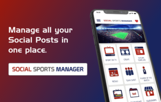 Social Sports Manager Feature Image